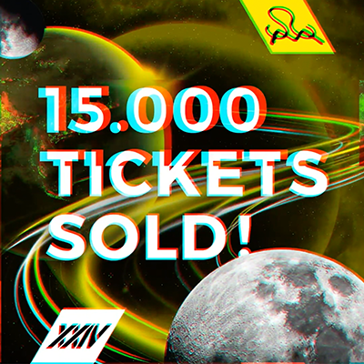 15.000 Tickets für SMS.XXIV 2020 sold!
